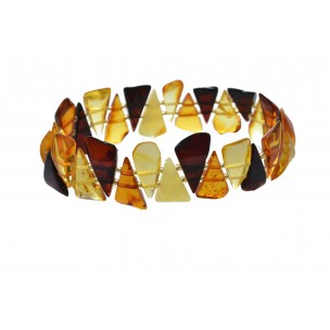 Bracelet made of genuine Baltic Amber
