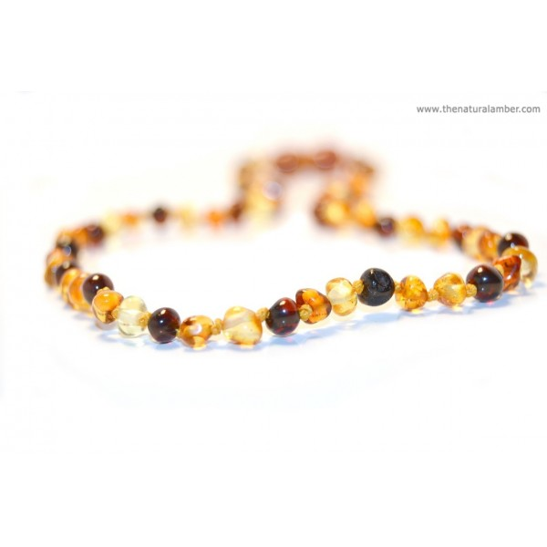Baltic Amber Necklace made for a baby