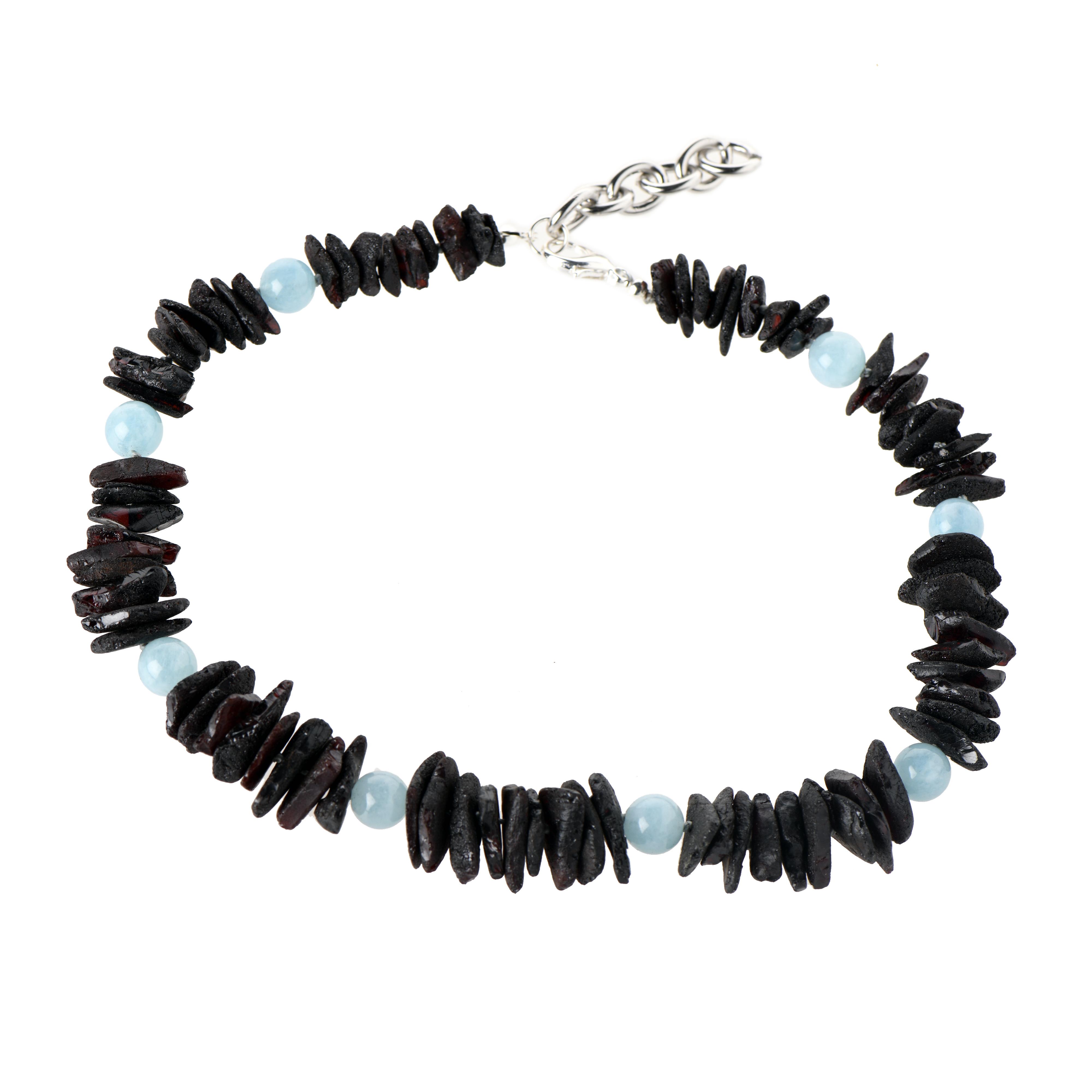 Amber gemstone pet collar